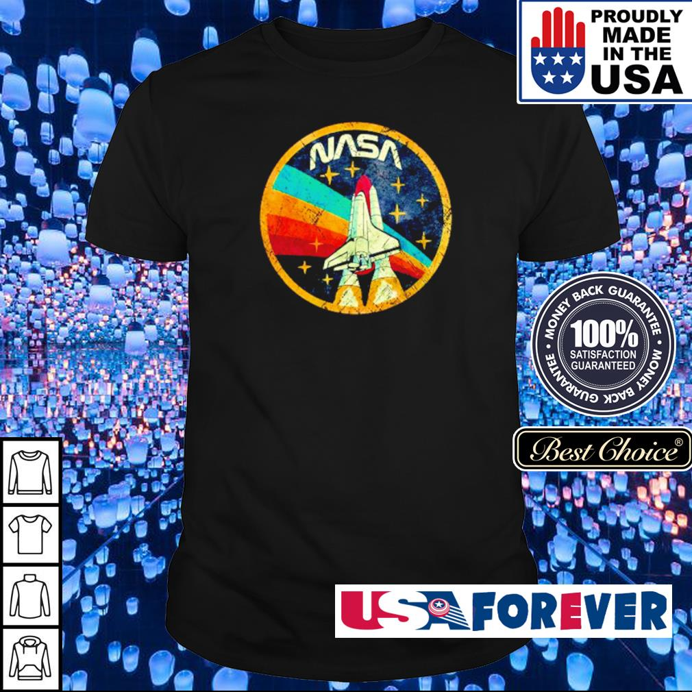 USA NASA spaceship vintage shirt