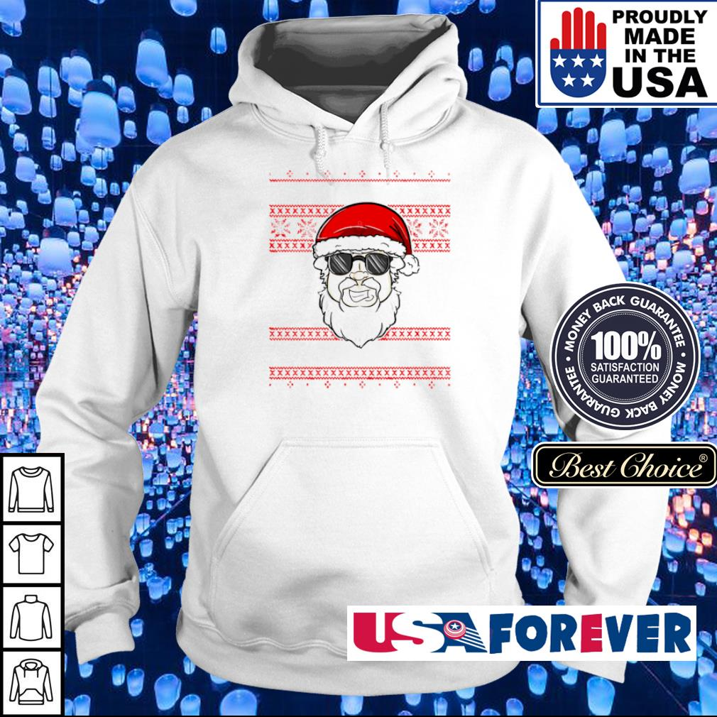 Cool Santa Claus merry Christmas sweater hoodie