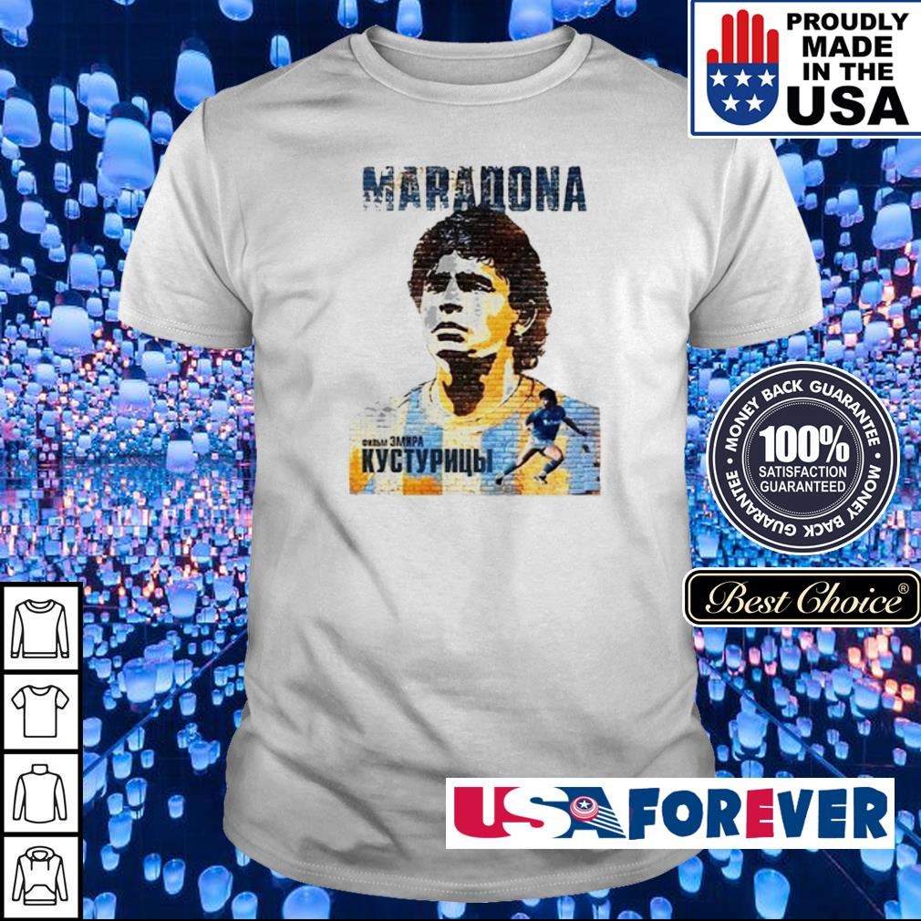Legends never dies Argentina Maradona shirt