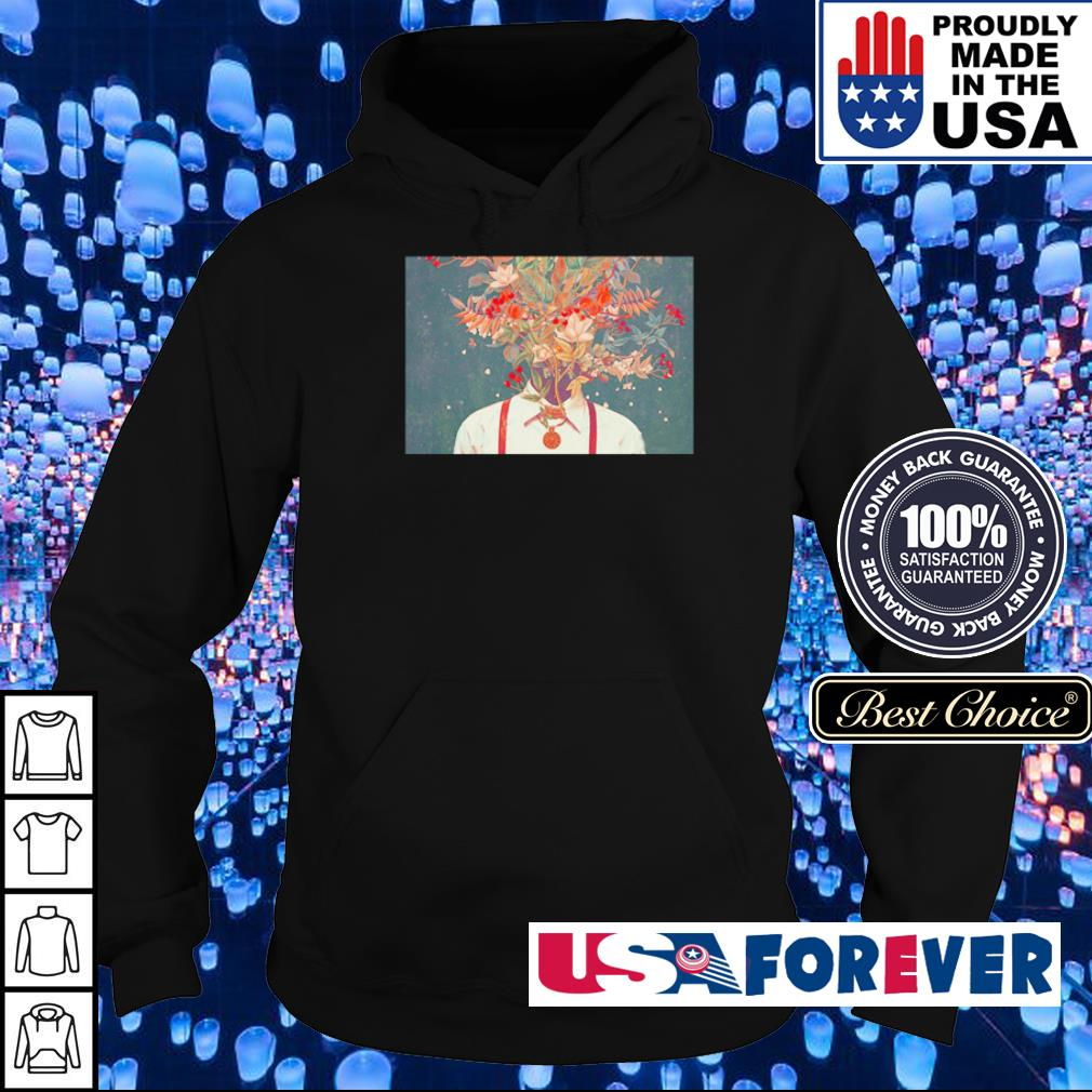 Official man and nature art s hoodie
