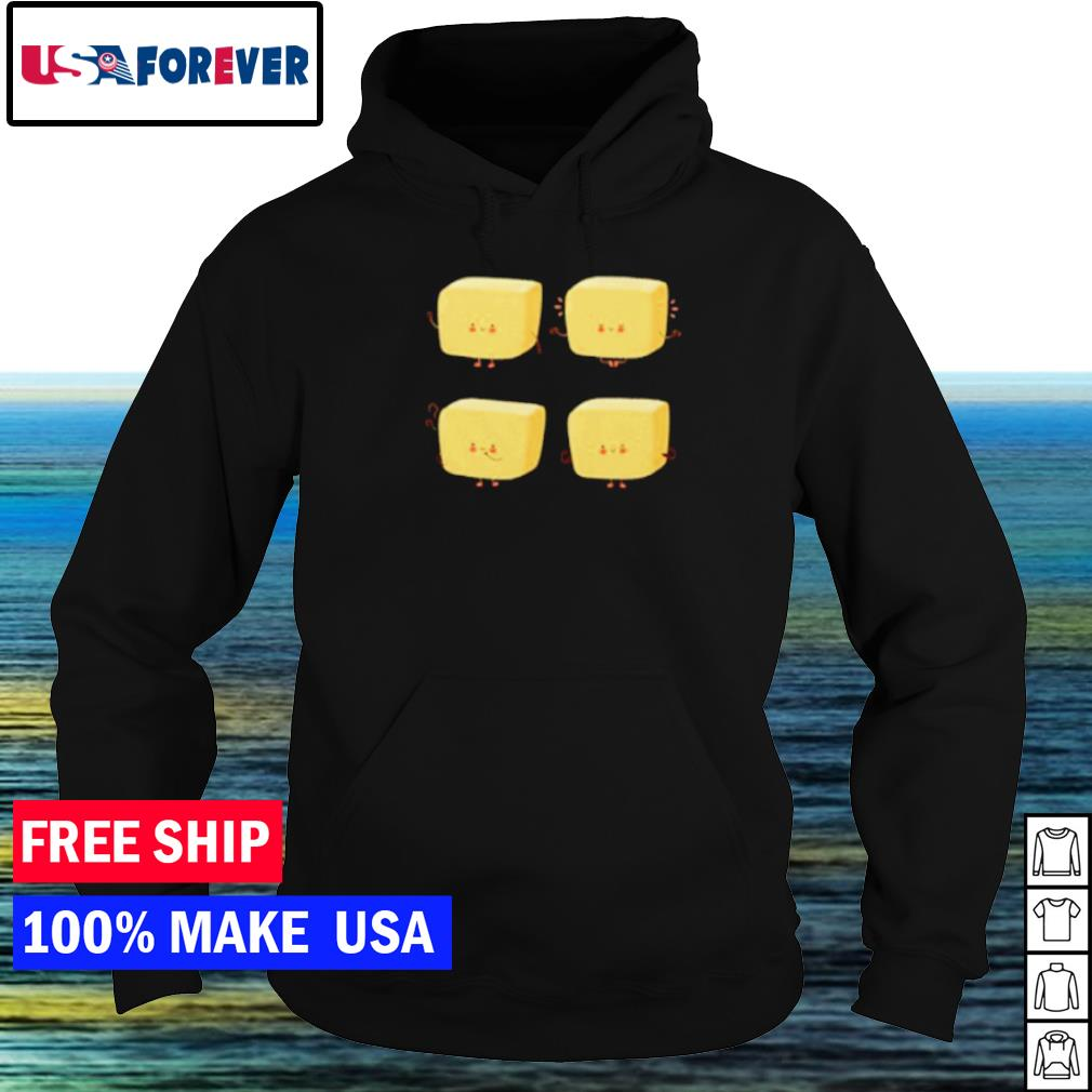Four piece butter cloth s hoodie
