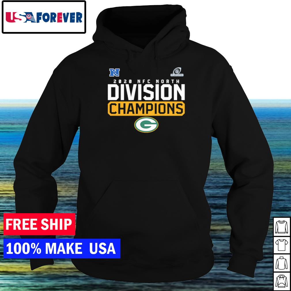 Green Bay Packers 2020 NFC North Division Champions s hoodie