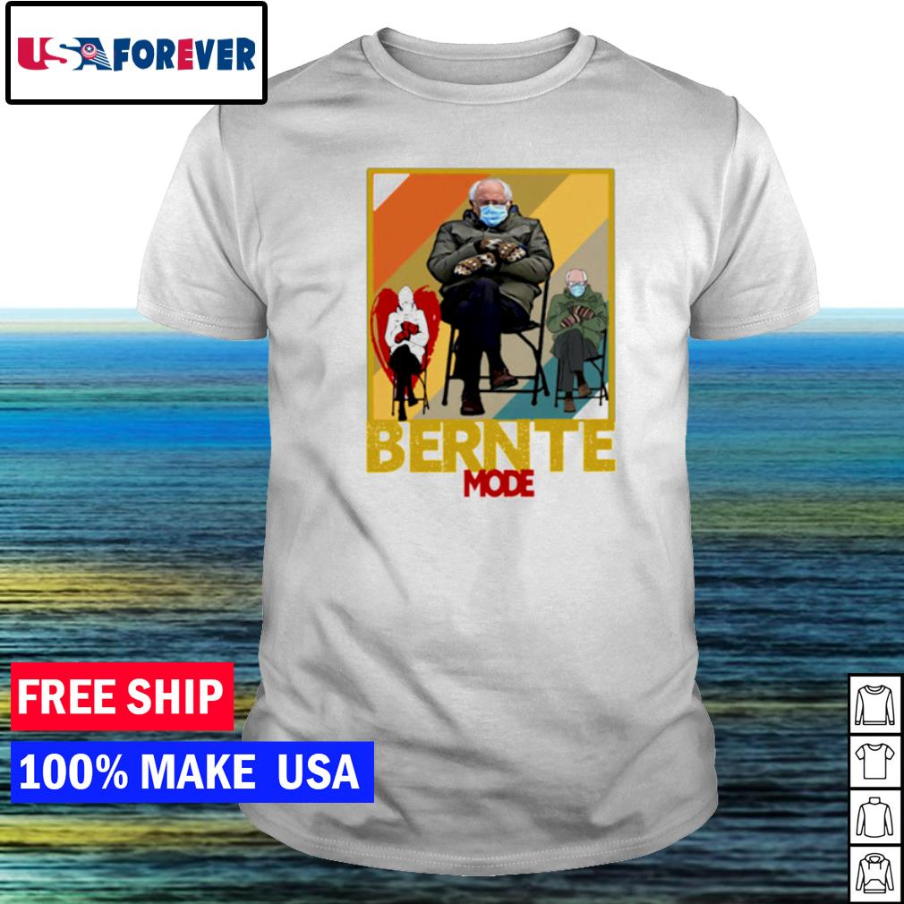 Inauguration day Bernte mode Bernie Sanders shirt