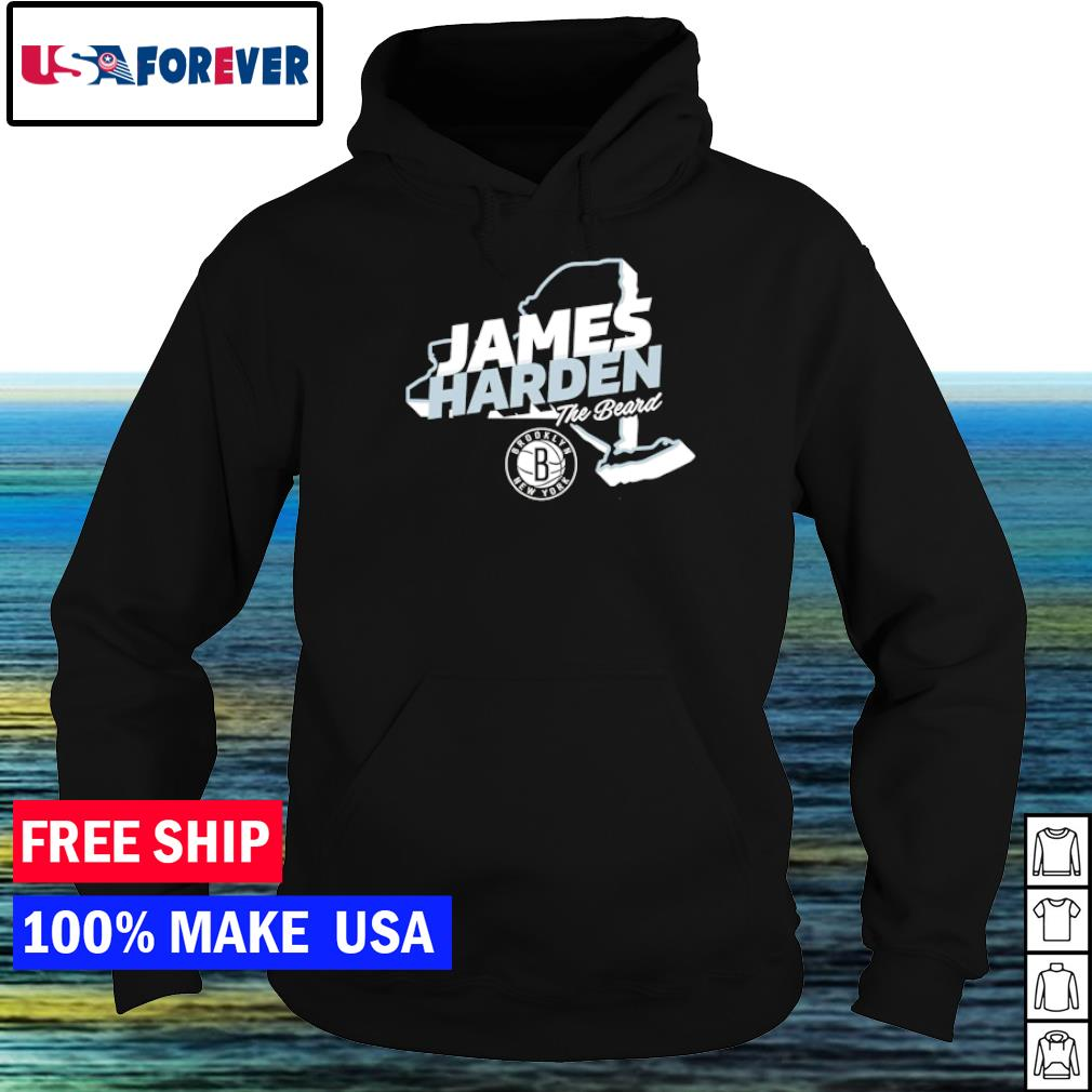 James Harden Brooklyn Nets The Beard s hoodie