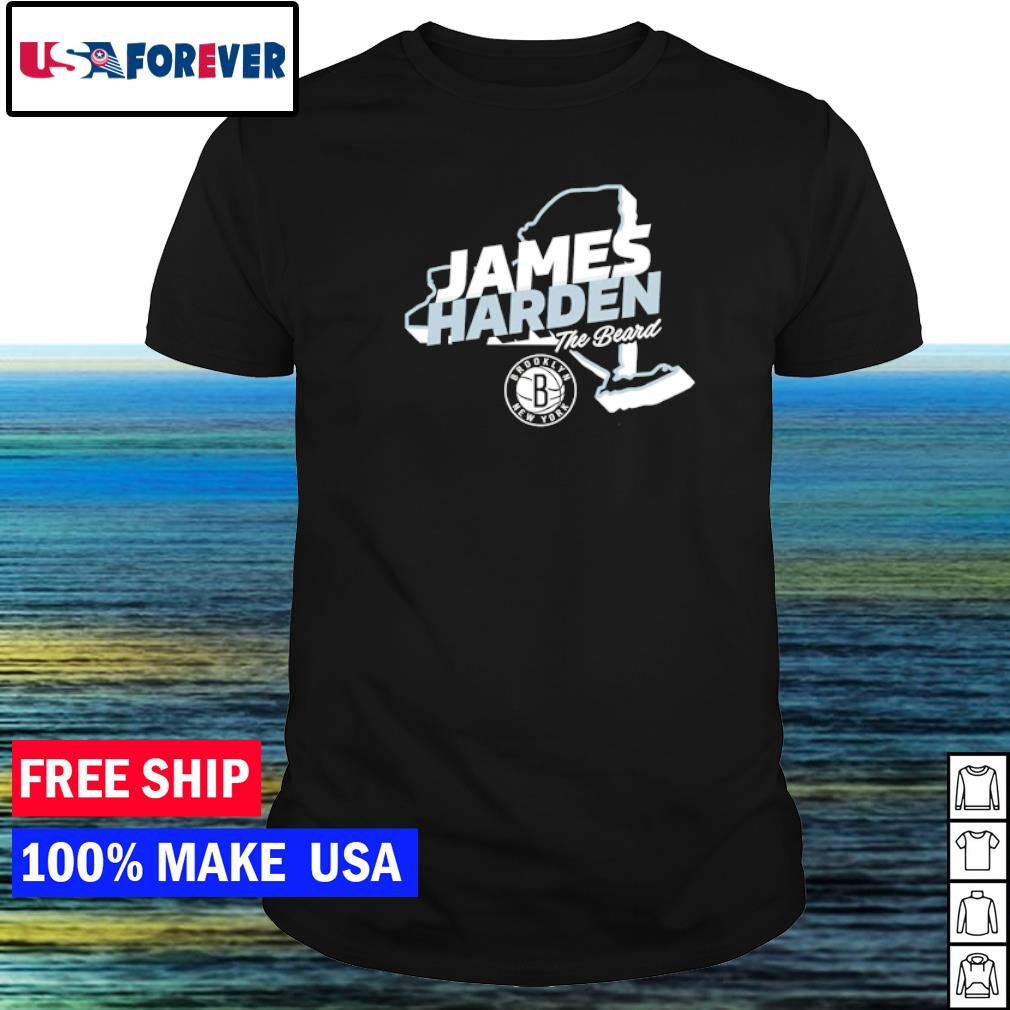 James Harden Brooklyn Nets The Beard shirt