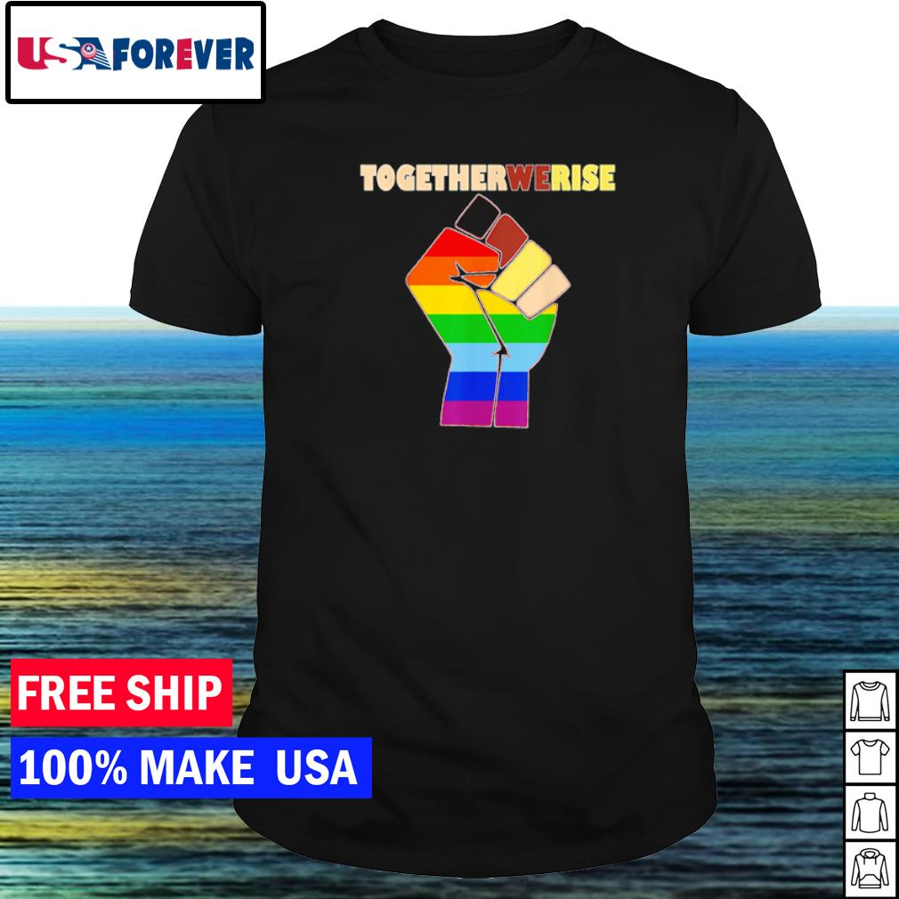 Justice for everyone together we rise shirt