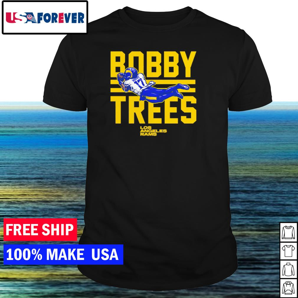 Los Angeles Rams Bobby Trees number 17 shirt