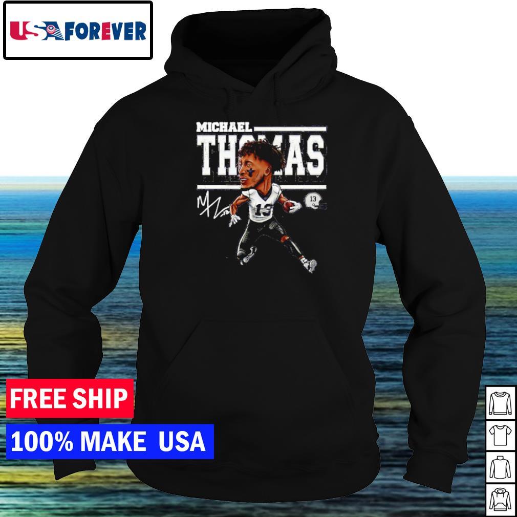 Michael Thomas number 13 New Orleans Saints signature s hoodie