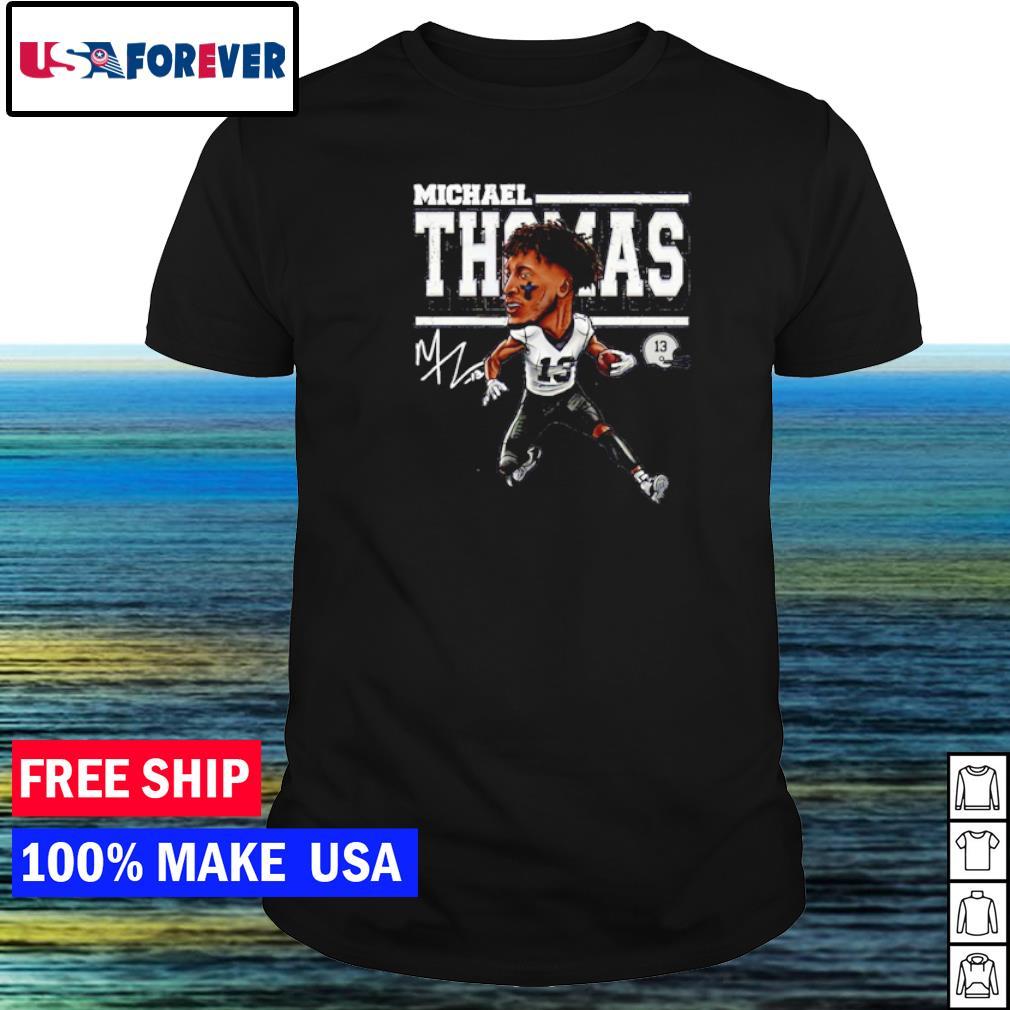 Michael Thomas number 13 New Orleans Saints signature shirt