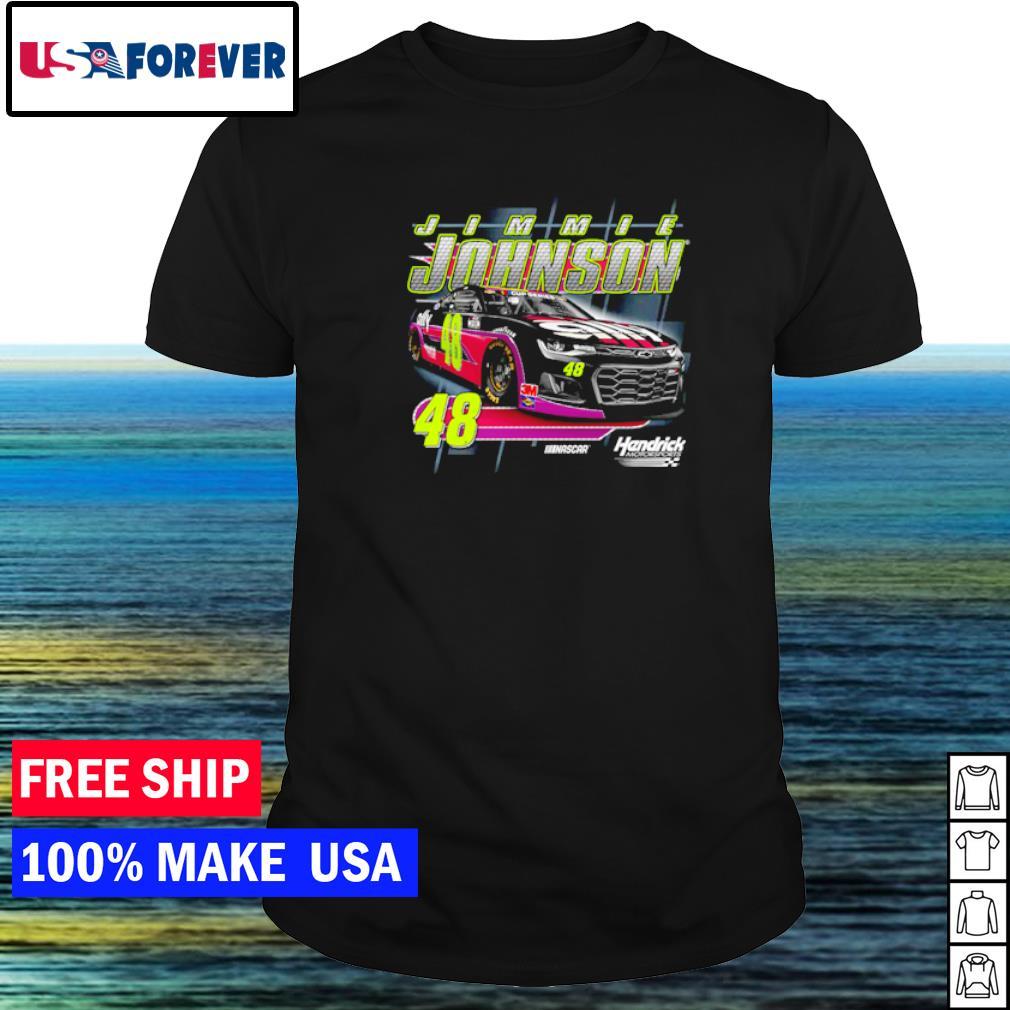 Motorsports Jimmie Johnson Nascar number 48 shirt