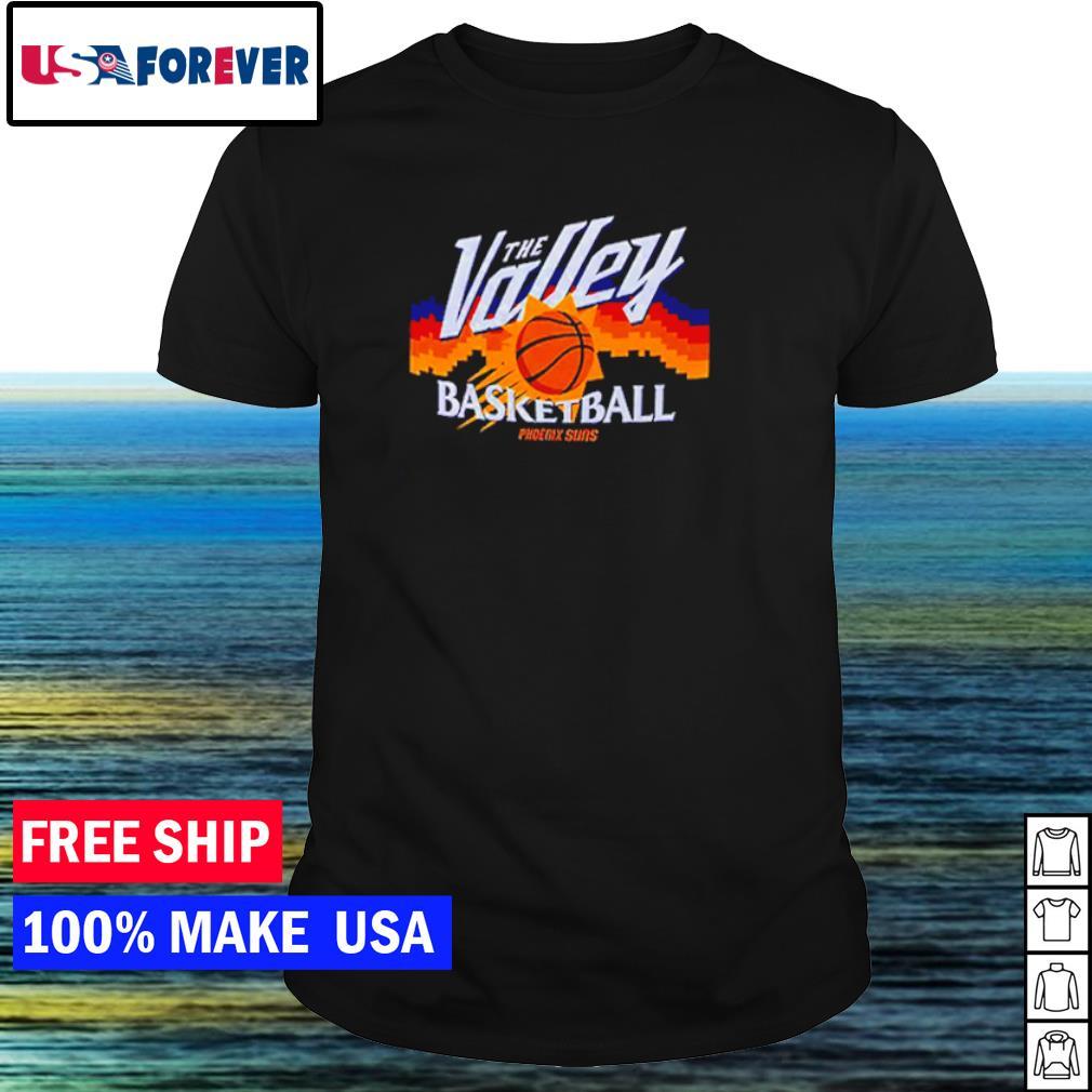 NBA Phoenix Suns the valley basketball shirt