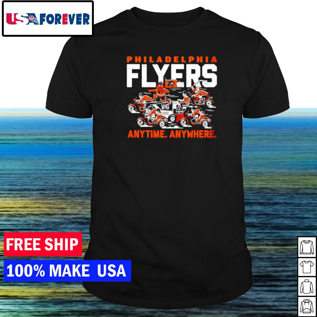 Philadelphia Flyers anytime anywhere shirt