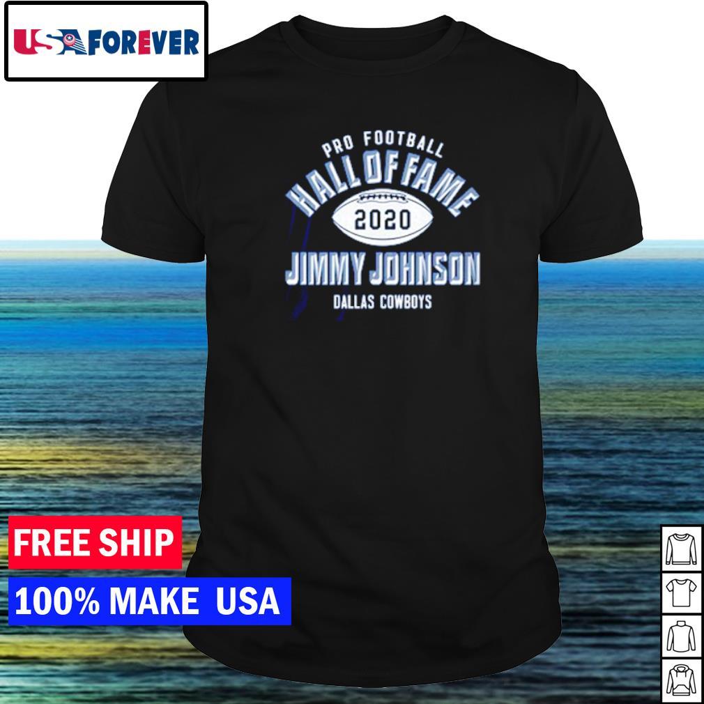 Pro Football Hall of Fame 2020 Jimmy Johnson Dallas Cowboys shirt