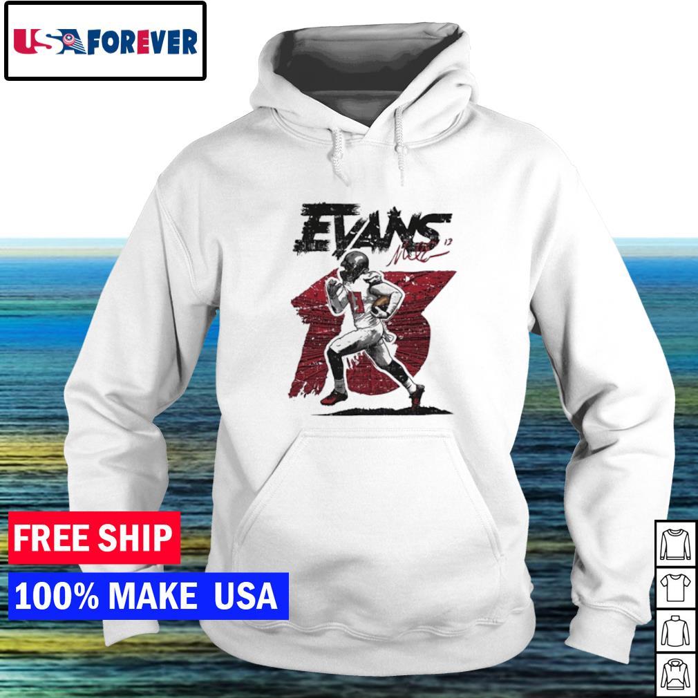Tampa Bay Buccaneers Evans Mike running signature s hoodie