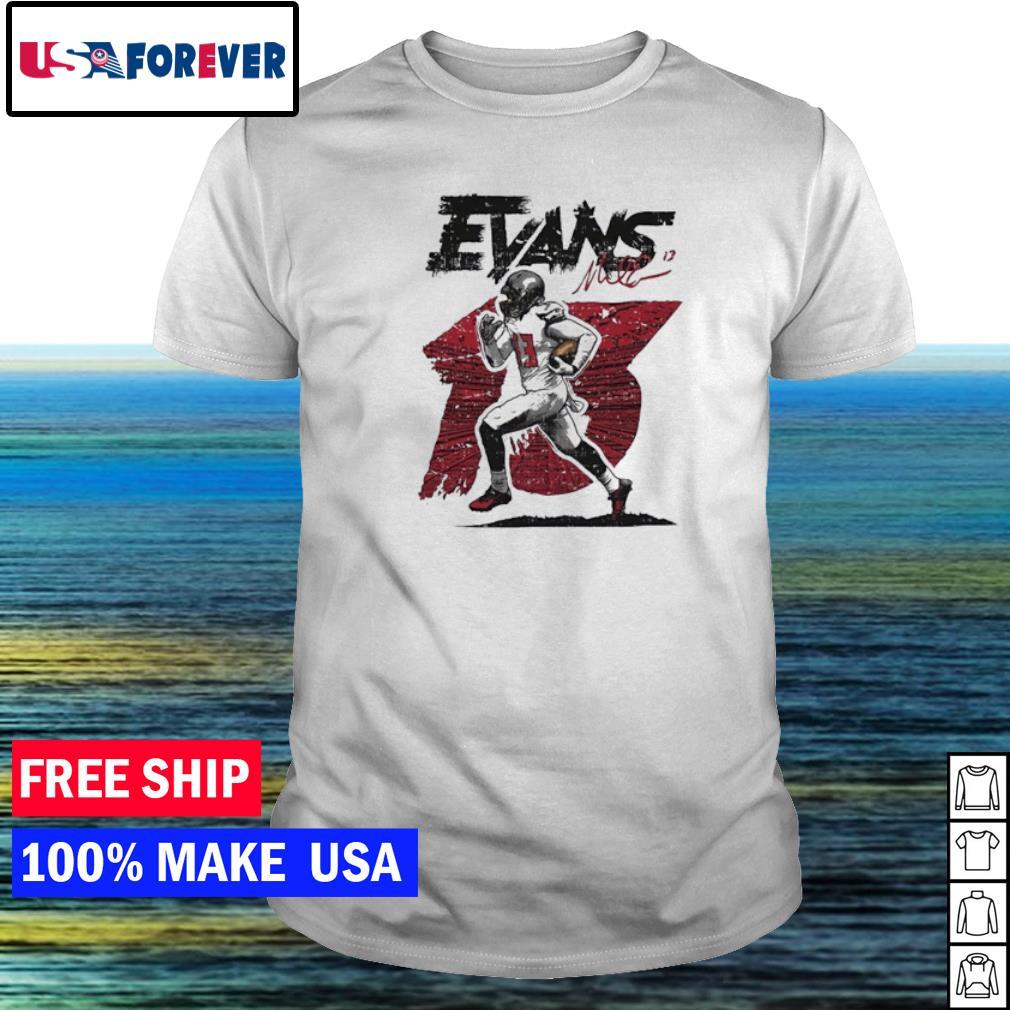 Tampa Bay Buccaneers Evans Mike running signature shirt