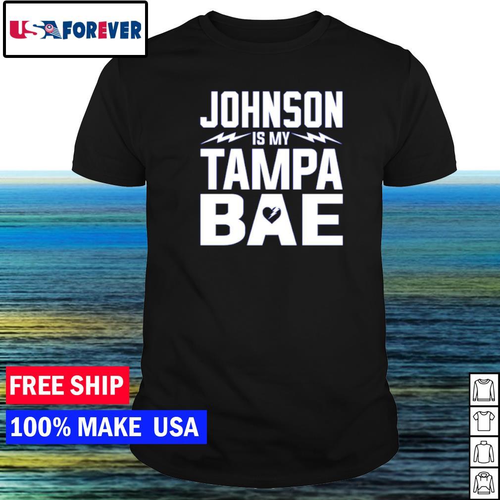 Tampa Bay Buccaneers Johnson is my Tampa bae shirt