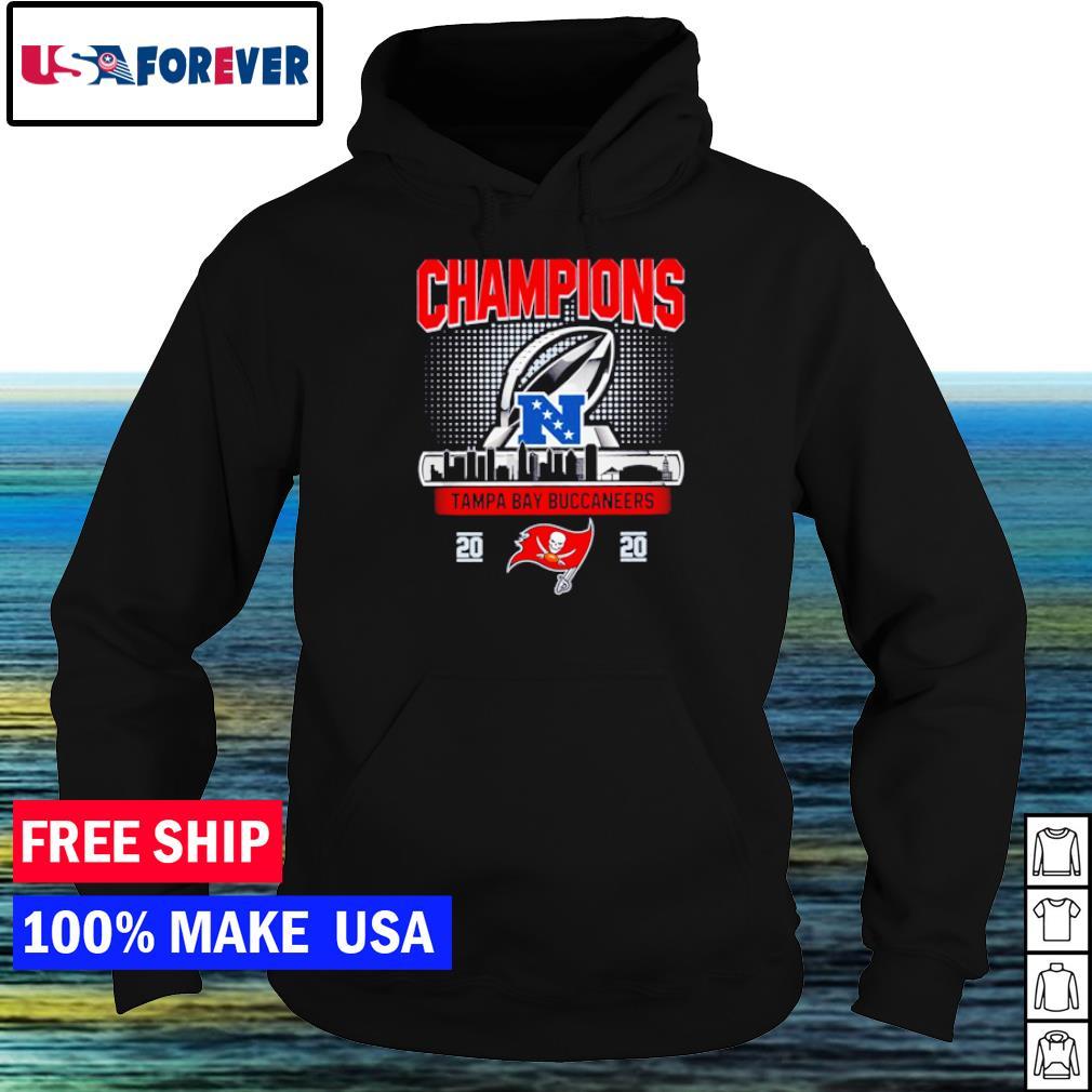 Tampa Bay Buccanneers 2020 Champions NFL s hoodie