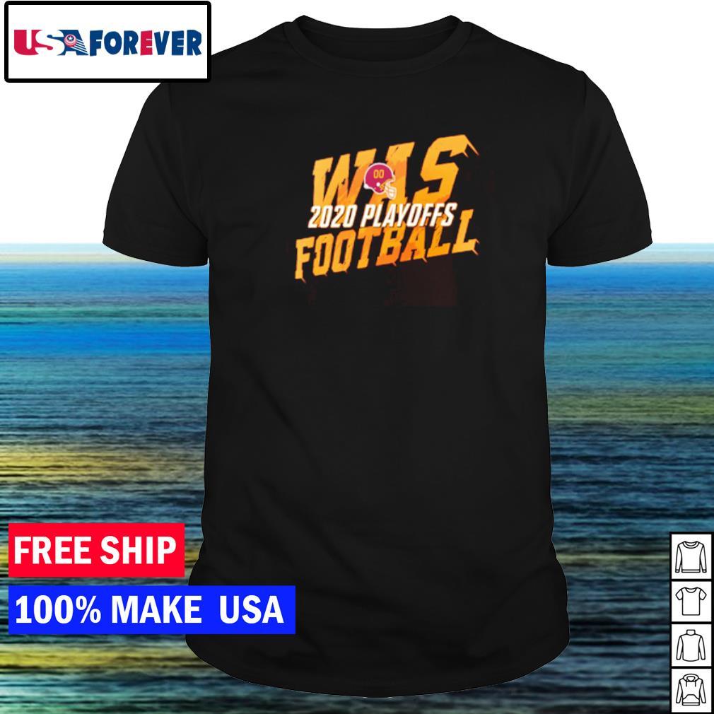 Washington Football 2020 playoff WAS shirt